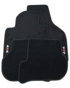 Textilfußmatten-Set Premium 4x4